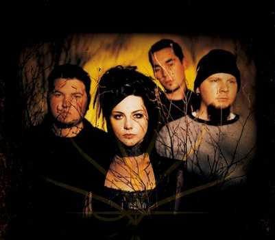 Evanescence group picture